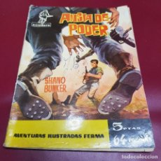 Tebeos: FERMA - COMBATE - ANSIA DE PODER - 8 - 1962. Lote 233109390