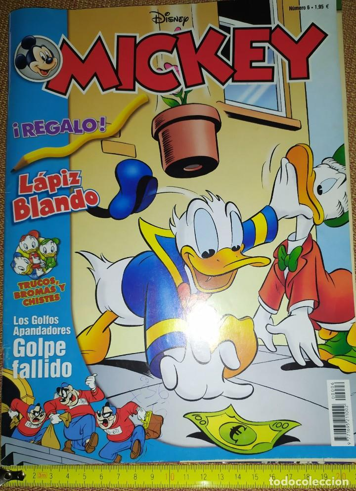 REVISTA TEBEO DISNEY MICKEY NUMERO 6 PATO DONALD TRUCOS BROMAS CHISTES GOLFOS GOLPE FALLIDO (Tebeos y Comics - Ferma - Agente Secreto)