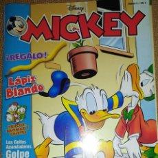 Tebeos: REVISTA TEBEO DISNEY MICKEY NUMERO 6 PATO DONALD TRUCOS BROMAS CHISTES GOLFOS GOLPE FALLIDO. Lote 233468205