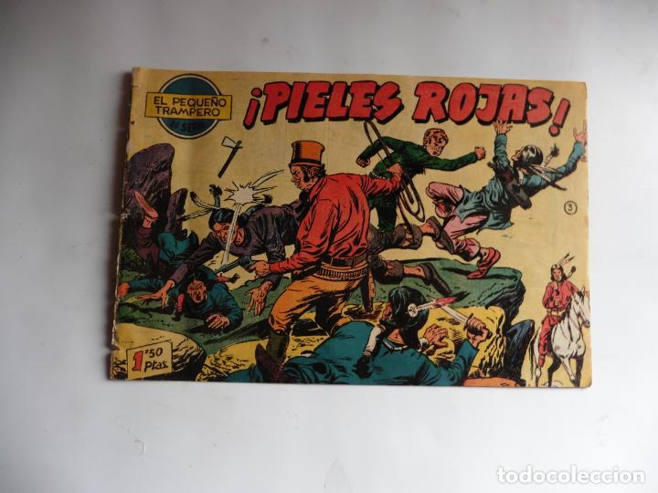 PEQUEÑO TRAMPERO Nº 3 FERMA ORIGINAL (Tebeos y Comics - Ferma - Otros)