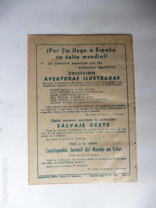 Tebeos: PEQUEÑO TRAMPERO Nº 33 VERTICAL FERMA ORIGINAL - Foto 2 - 233525050