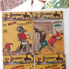 Tebeos: EL SOLITARIO ORIGINALES FERMA 1958 - NºS 2,3,4 Y EXTRAORDINARIO, MUY BUEN ESTADO. Lote 233763220