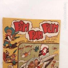 Tebeos: PIM PAM PUM ORIGINAL Nº 6 EDI. FERMA 1956 - MARTÍNEZ OSETE DIBUJOS. Lote 234583385