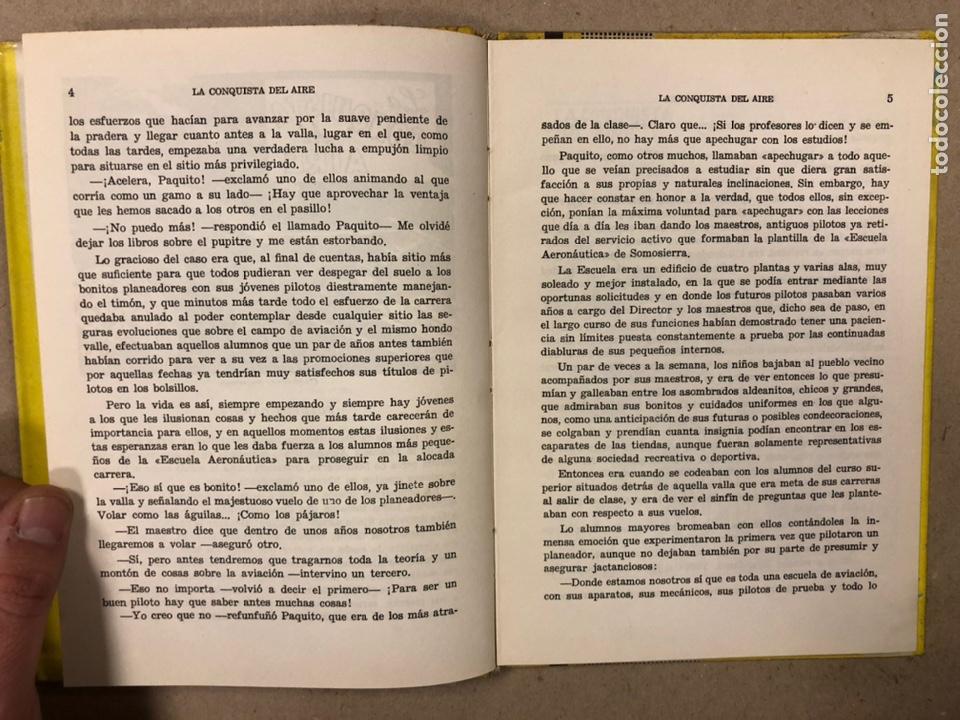 Tebeos: LA CONQUISTA DEL AIRE (HISTORIA DE LA AVIACIÓN). FLORES - LÁZARO. COLECCIÓN JUVENIL FERMA 1961. - Foto 5 - 234722260