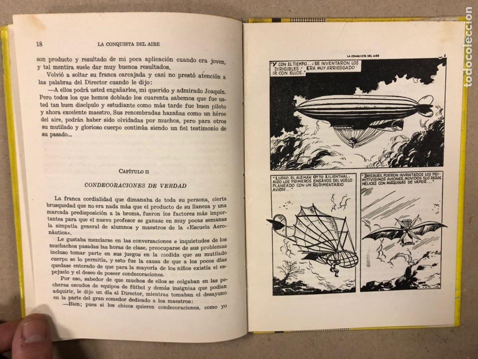 Tebeos: LA CONQUISTA DEL AIRE (HISTORIA DE LA AVIACIÓN). FLORES - LÁZARO. COLECCIÓN JUVENIL FERMA 1961. - Foto 6 - 234722260