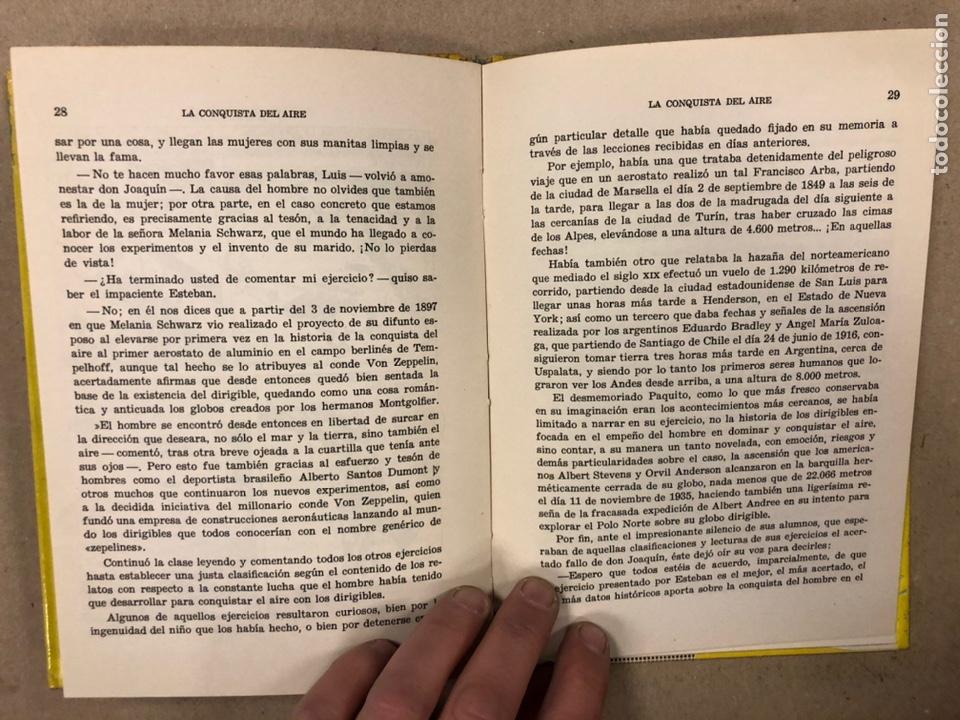 Tebeos: LA CONQUISTA DEL AIRE (HISTORIA DE LA AVIACIÓN). FLORES - LÁZARO. COLECCIÓN JUVENIL FERMA 1961. - Foto 7 - 234722260