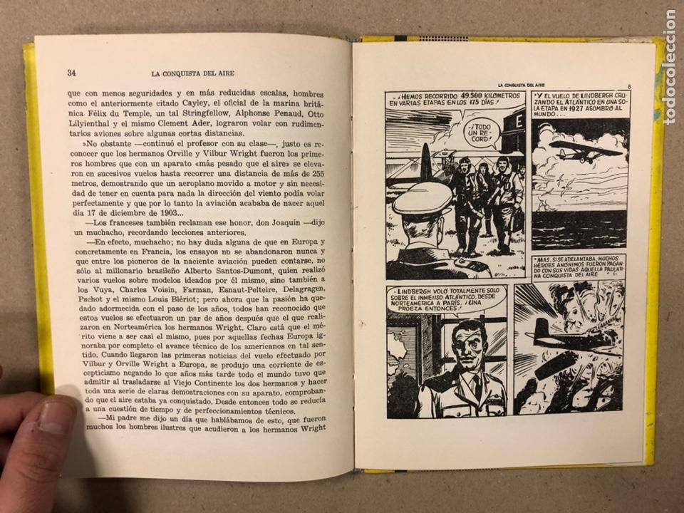 Tebeos: LA CONQUISTA DEL AIRE (HISTORIA DE LA AVIACIÓN). FLORES - LÁZARO. COLECCIÓN JUVENIL FERMA 1961. - Foto 8 - 234722260
