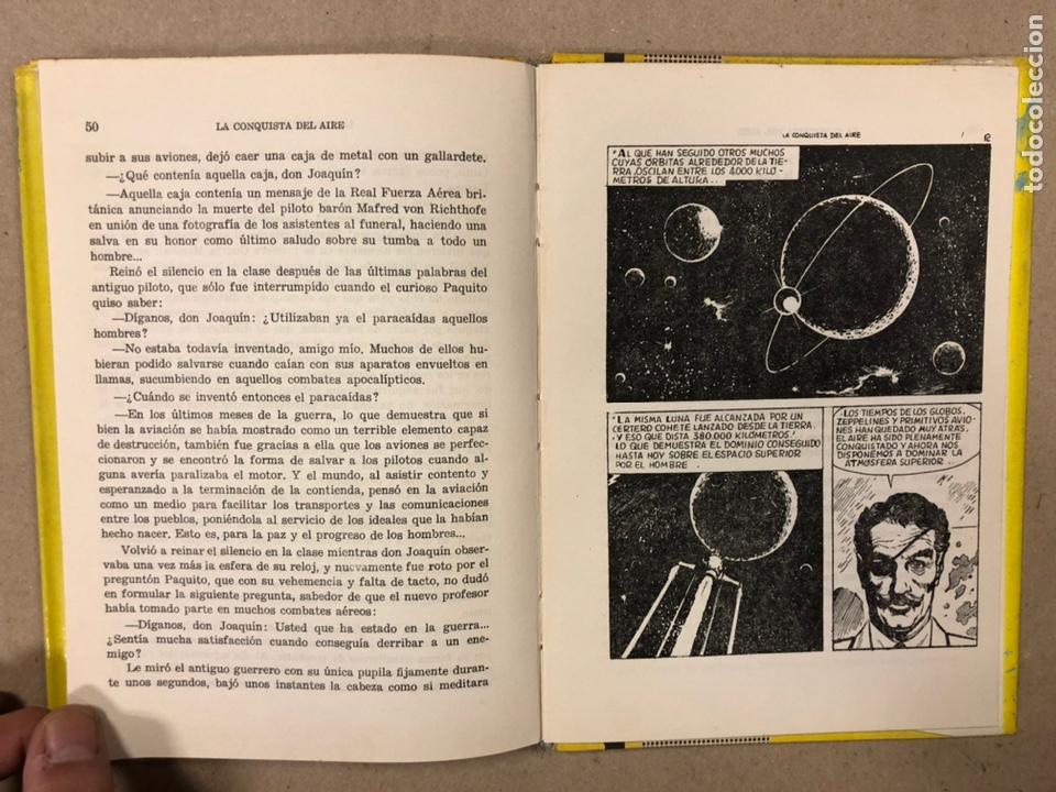 Tebeos: LA CONQUISTA DEL AIRE (HISTORIA DE LA AVIACIÓN). FLORES - LÁZARO. COLECCIÓN JUVENIL FERMA 1961. - Foto 9 - 234722260