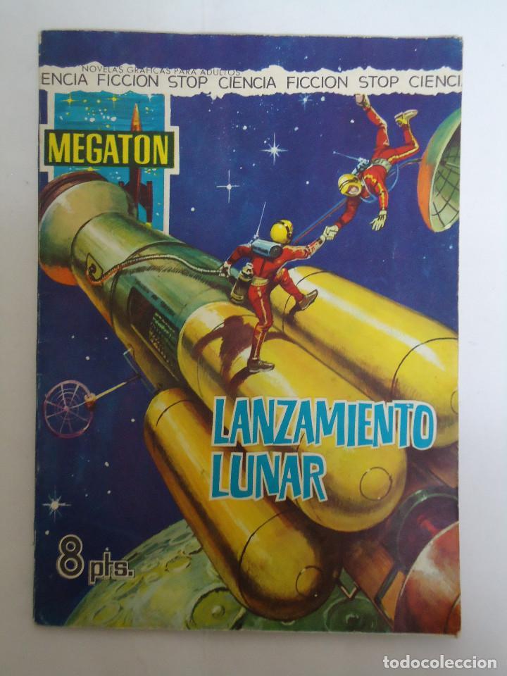 COMIC MEGATON EL LANZAMIENTO LUNAR. EDITORIAL FERMA. AÑO 1966 (Tebeos y Comics - Ferma - Otros)
