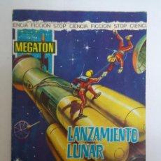 Tebeos: COMIC MEGATON EL LANZAMIENTO LUNAR. EDITORIAL FERMA. AÑO 1966. Lote 235580880