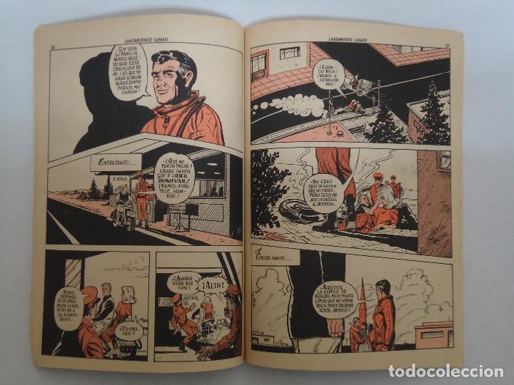 Tebeos: COMIC MEGATON EL LANZAMIENTO LUNAR. EDITORIAL FERMA. AÑO 1966 - Foto 2 - 235580880