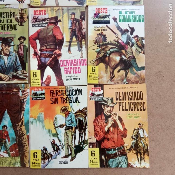 Tebeos: OESTE CHEYENNE ORIGINAL EDI. FERMA 1963 -- 2,3,4,5,6,7,9,13,14,15,18,19, MUY NUEVOS, VER PORTADAS - Foto 8 - 235597235