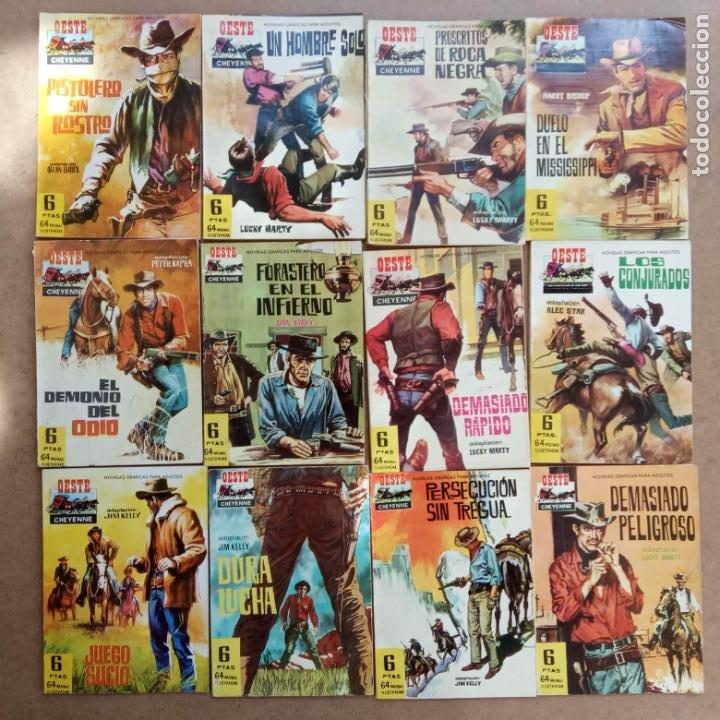 OESTE CHEYENNE ORIGINAL EDI. FERMA 1963 -- 2,3,4,5,6,7,9,13,14,15,18,19, MUY NUEVOS, VER PORTADAS (Tebeos y Comics - Ferma - Otros)