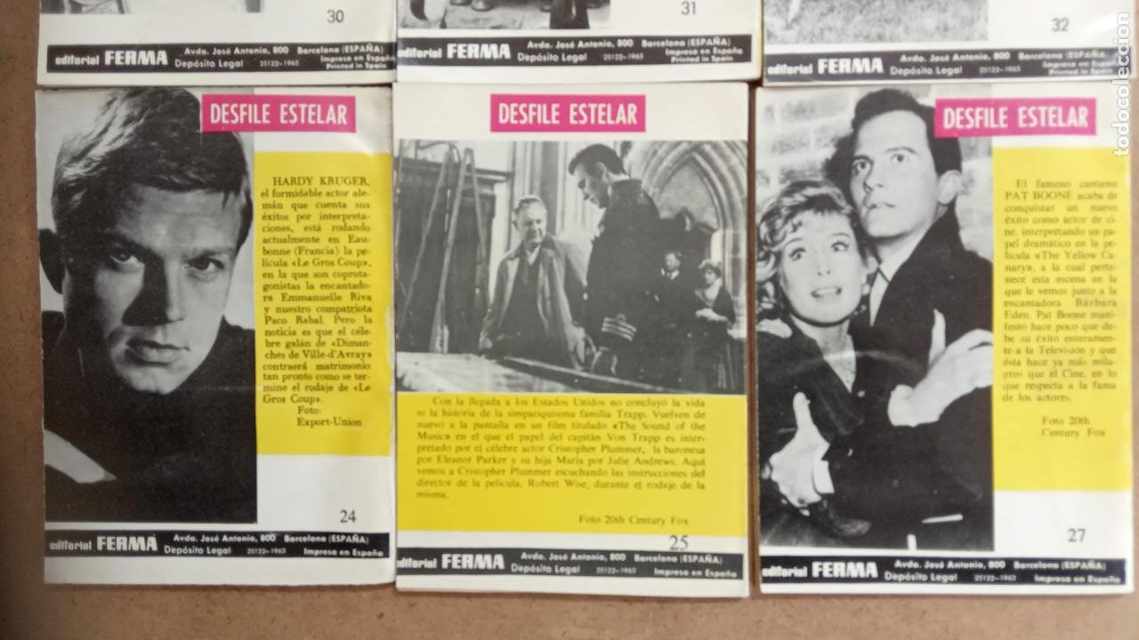 Tebeos: OESTE PISTOLEROS EDI. FERMA 1963 - 56 NºS ENTRE EL 22 Y EL 169, VER PORTADAS Y CONTRAS - Foto 4 - 235598340