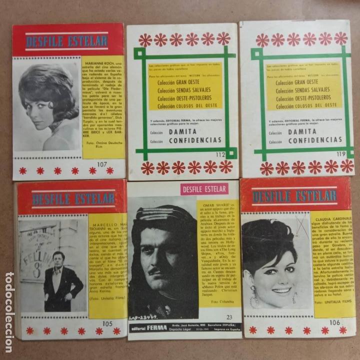 Tebeos: OESTE PISTOLEROS EDI. FERMA 1963 - 56 NºS ENTRE EL 22 Y EL 169, VER PORTADAS Y CONTRAS - Foto 14 - 235598340
