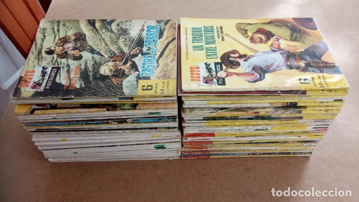 OESTE PISTOLEROS EDI. FERMA 1963 - 56 NºS ENTRE EL 22 Y EL 169, VER PORTADAS Y CONTRAS (Tebeos y Comics - Ferma - Otros)