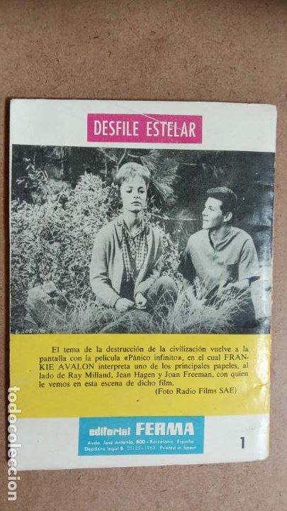 Tebeos: OESTE CHEYENNE ORIGINAL NUEVO Nº 1 - EDI. FERMA 1963 - FRANKIE AVALON, JOAN FREEMAN FOTO - Foto 2 - 235878440