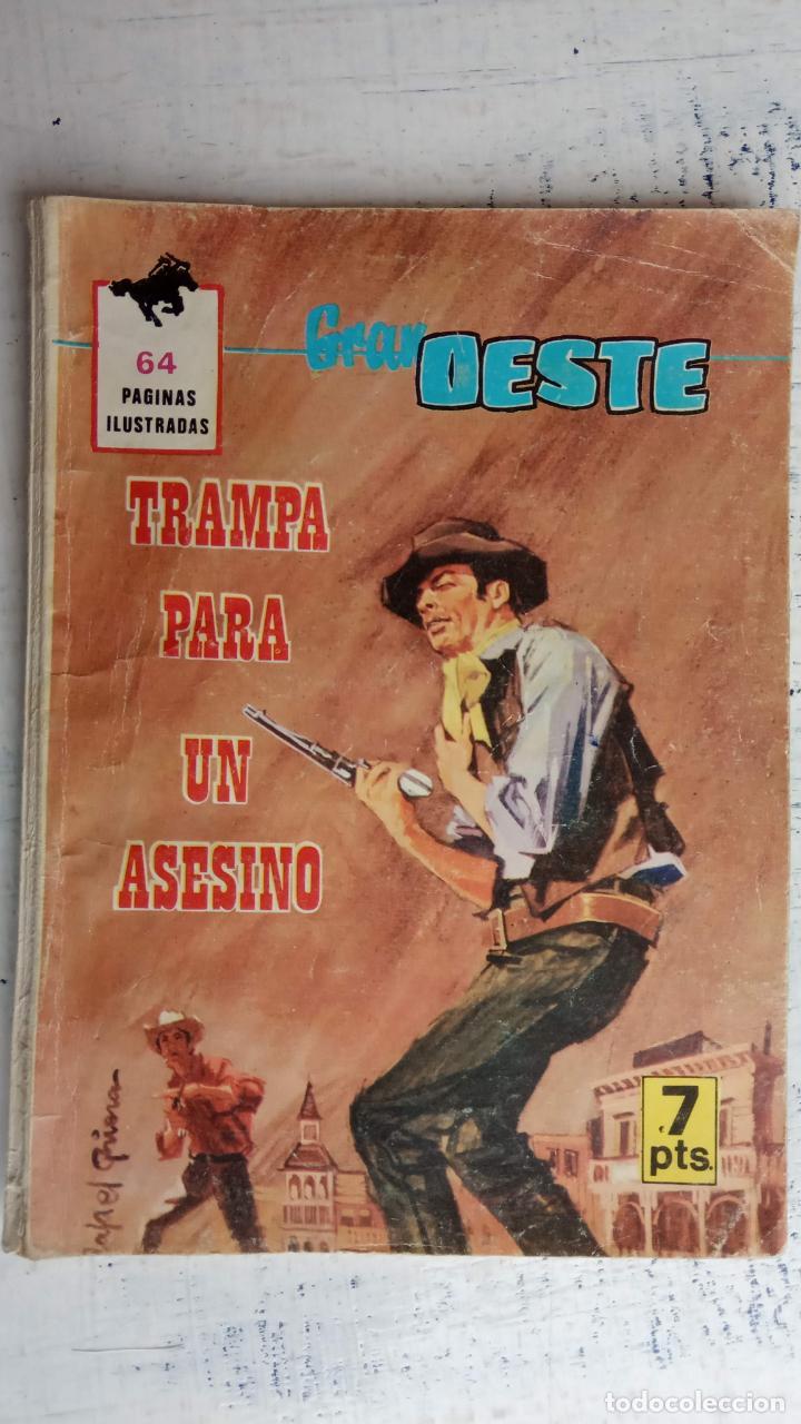 GRAN OESTE ORIGINAL FERMA Nº DESCATALOGADO ORIGINAL 441 - TRAMPA PARA UN ASESINO (Tebeos y Comics - Ferma - Gran Oeste)