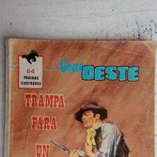 Tebeos: GRAN OESTE ORIGINAL FERMA Nº DESCATALOGADO ORIGINAL 441 - TRAMPA PARA UN ASESINO. Lote 235879465
