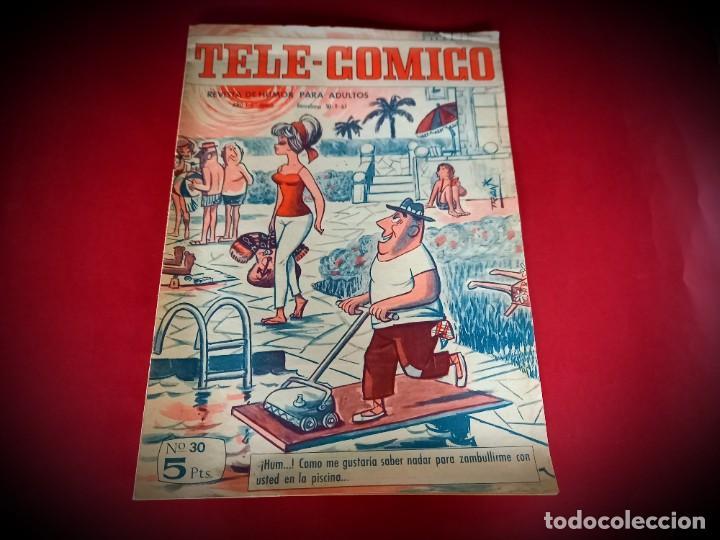 Tebeos: TELE-COMICO Nº 30 - AÑO 1965 - Foto 2 - 236409180