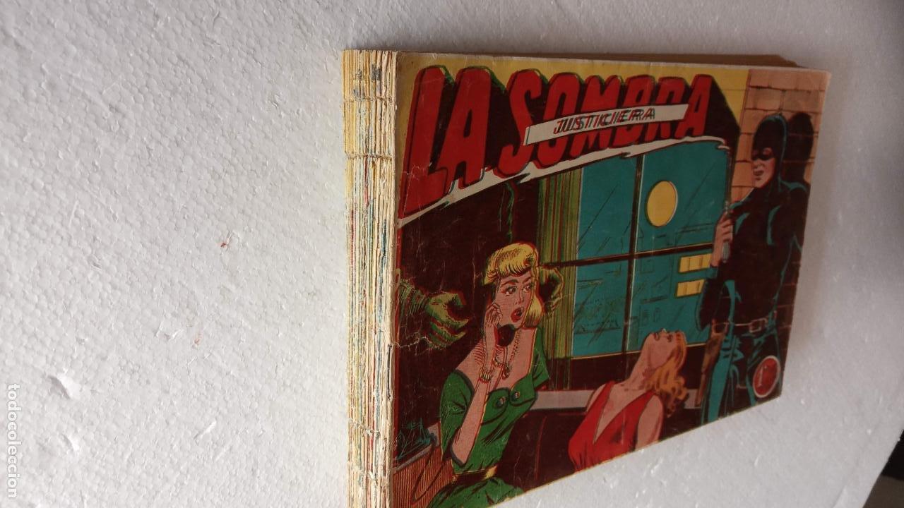 Tebeos: LA SOMBRA JUSTICIERA ORIGINAL 34 TEBEOS - EDI. FERMA 1954 - VER TODAS LAS PORTADAS - Foto 4 - 236655090