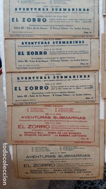 Tebeos: LA SOMBRA JUSTICIERA ORIGINAL 34 TEBEOS - EDI. FERMA 1954 - VER TODAS LAS PORTADAS - Foto 13 - 236655090