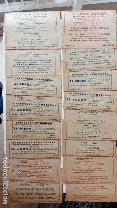 Tebeos: LA SOMBRA JUSTICIERA ORIGINAL 34 TEBEOS - EDI. FERMA 1954 - VER TODAS LAS PORTADAS - Foto 14 - 236655090
