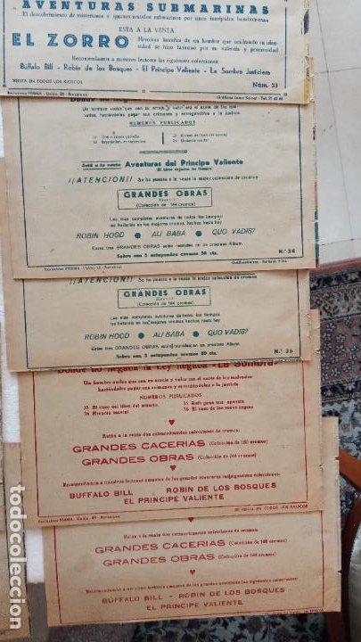 Tebeos: LA SOMBRA JUSTICIERA ORIGINAL 34 TEBEOS - EDI. FERMA 1954 - VER TODAS LAS PORTADAS - Foto 15 - 236655090
