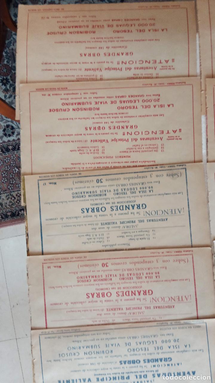 Tebeos: LA SOMBRA JUSTICIERA ORIGINAL 34 TEBEOS - EDI. FERMA 1954 - VER TODAS LAS PORTADAS - Foto 24 - 236655090