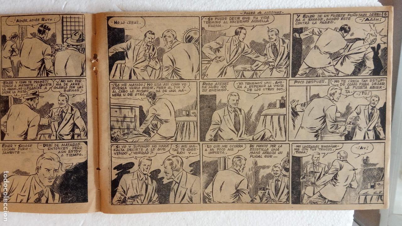 Tebeos: LA SOMBRA JUSTICIERA ORIGINAL 34 TEBEOS - EDI. FERMA 1954 - VER TODAS LAS PORTADAS - Foto 30 - 236655090