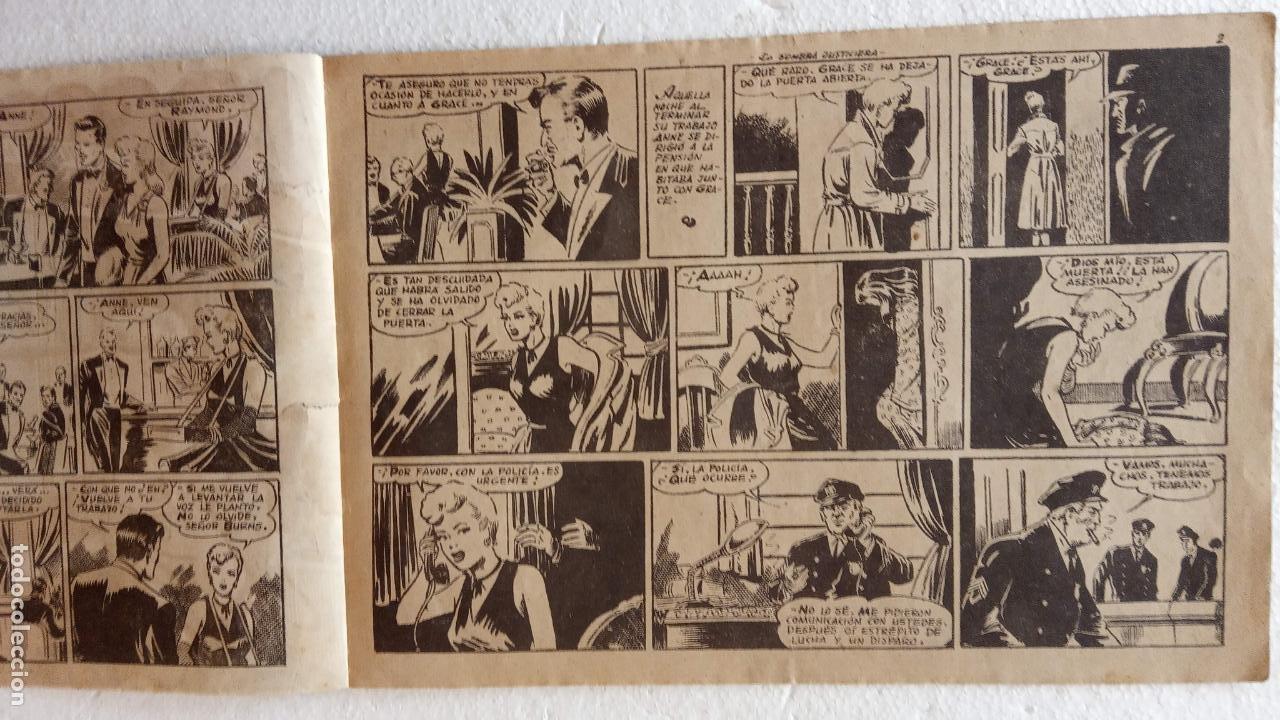 Tebeos: LA SOMBRA JUSTICIERA ORIGINAL 34 TEBEOS - EDI. FERMA 1954 - VER TODAS LAS PORTADAS - Foto 32 - 236655090