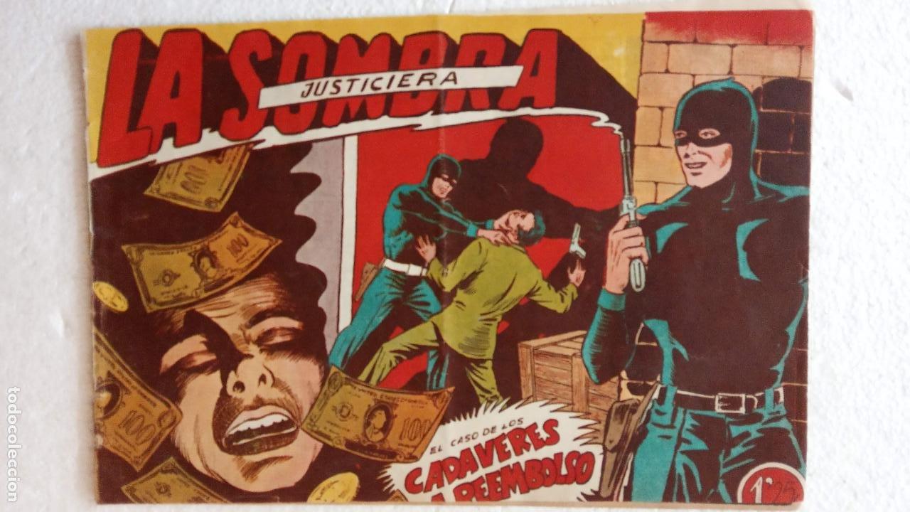 Tebeos: LA SOMBRA JUSTICIERA ORIGINAL 34 TEBEOS - EDI. FERMA 1954 - VER TODAS LAS PORTADAS - Foto 33 - 236655090