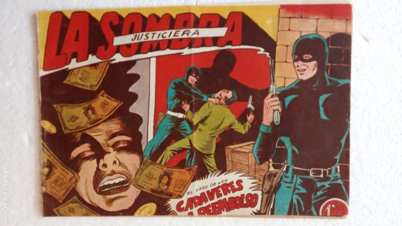 Tebeos: LA SOMBRA JUSTICIERA ORIGINAL 34 TEBEOS - EDI. FERMA 1954 - VER TODAS LAS PORTADAS - Foto 35 - 236655090