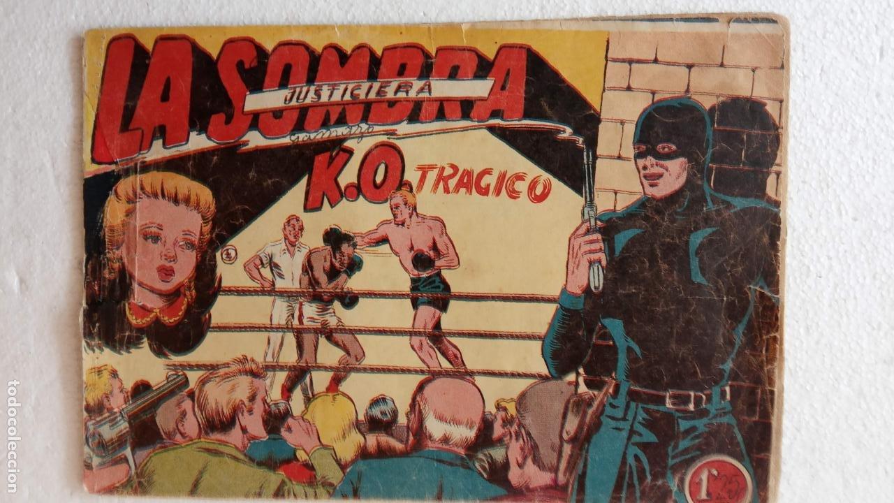 Tebeos: LA SOMBRA JUSTICIERA ORIGINAL 34 TEBEOS - EDI. FERMA 1954 - VER TODAS LAS PORTADAS - Foto 36 - 236655090