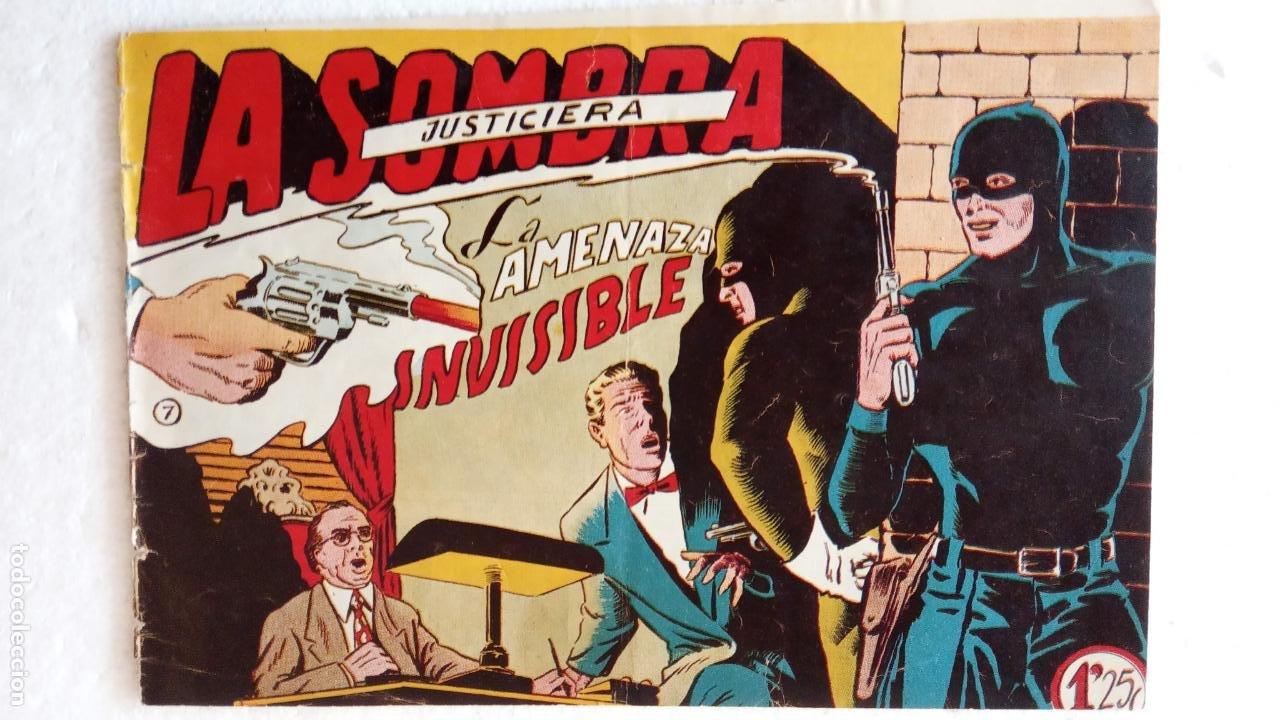 Tebeos: LA SOMBRA JUSTICIERA ORIGINAL 34 TEBEOS - EDI. FERMA 1954 - VER TODAS LAS PORTADAS - Foto 37 - 236655090