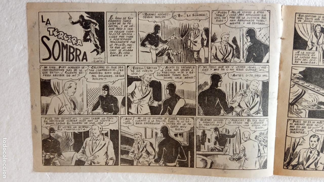 Tebeos: LA SOMBRA JUSTICIERA ORIGINAL 34 TEBEOS - EDI. FERMA 1954 - VER TODAS LAS PORTADAS - Foto 43 - 236655090
