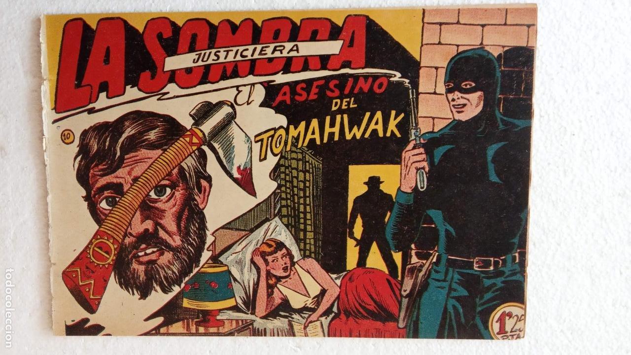 Tebeos: LA SOMBRA JUSTICIERA ORIGINAL 34 TEBEOS - EDI. FERMA 1954 - VER TODAS LAS PORTADAS - Foto 45 - 236655090