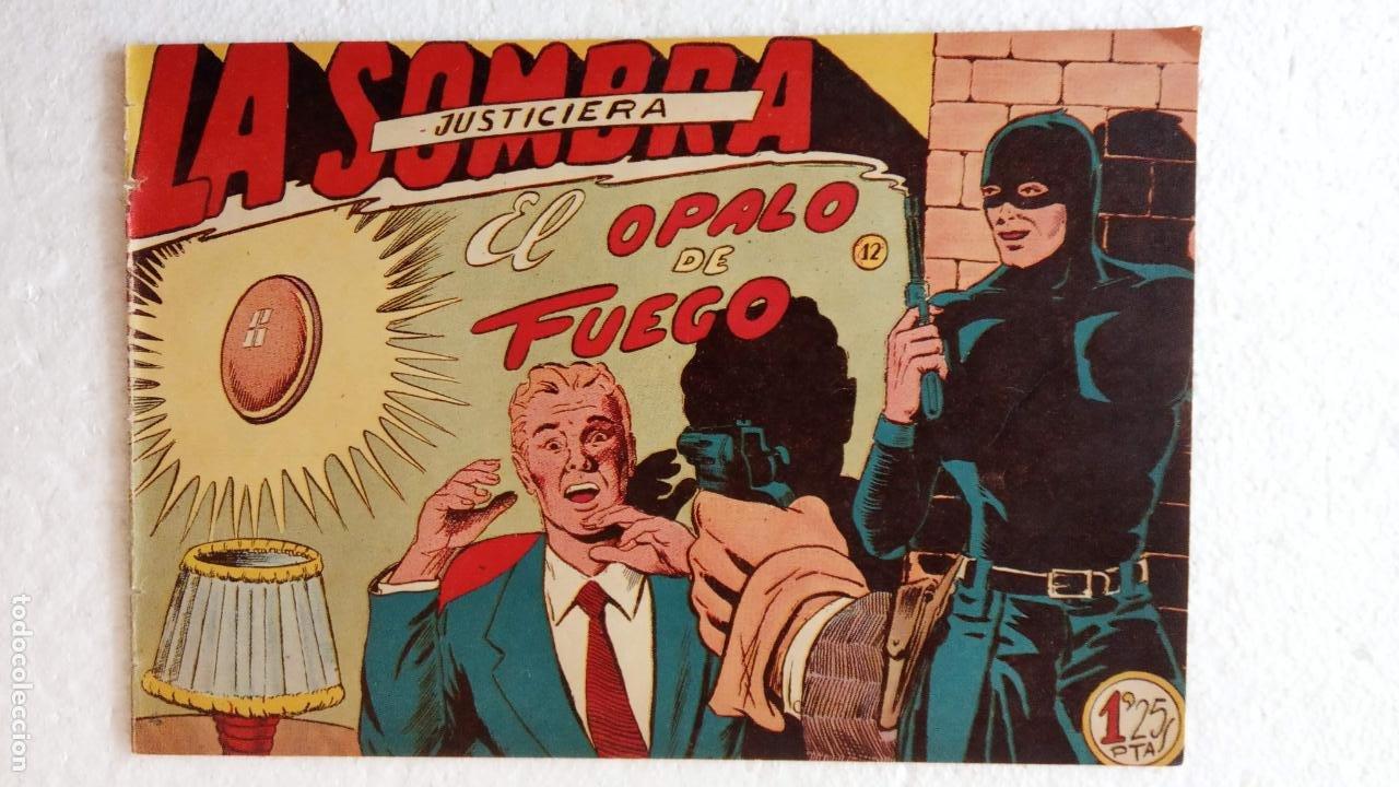 Tebeos: LA SOMBRA JUSTICIERA ORIGINAL 34 TEBEOS - EDI. FERMA 1954 - VER TODAS LAS PORTADAS - Foto 49 - 236655090