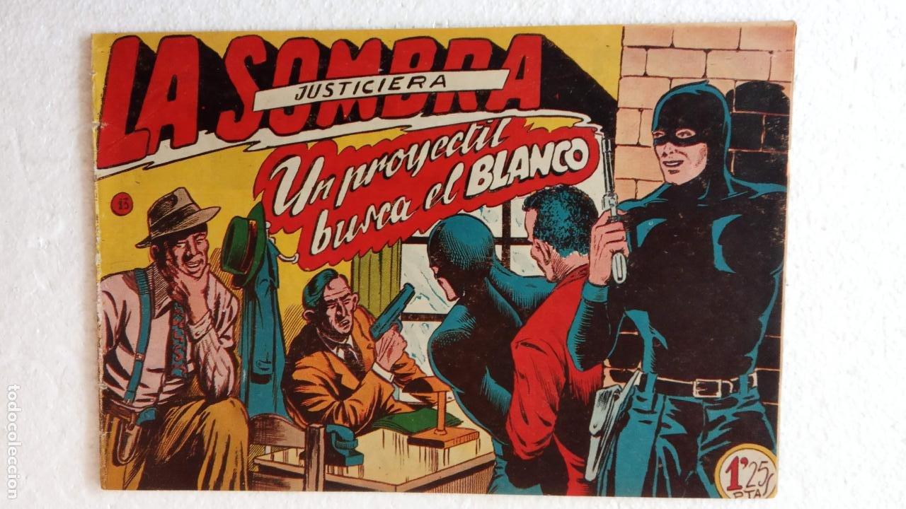 Tebeos: LA SOMBRA JUSTICIERA ORIGINAL 34 TEBEOS - EDI. FERMA 1954 - VER TODAS LAS PORTADAS - Foto 50 - 236655090