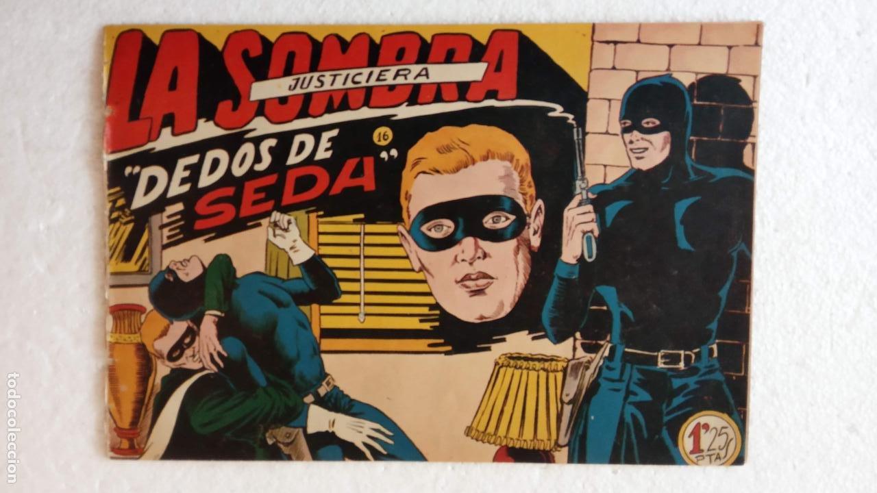 Tebeos: LA SOMBRA JUSTICIERA ORIGINAL 34 TEBEOS - EDI. FERMA 1954 - VER TODAS LAS PORTADAS - Foto 57 - 236655090