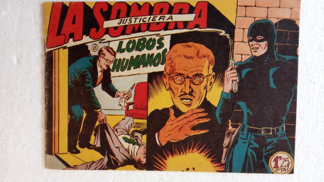 Tebeos: LA SOMBRA JUSTICIERA ORIGINAL 34 TEBEOS - EDI. FERMA 1954 - VER TODAS LAS PORTADAS - Foto 61 - 236655090