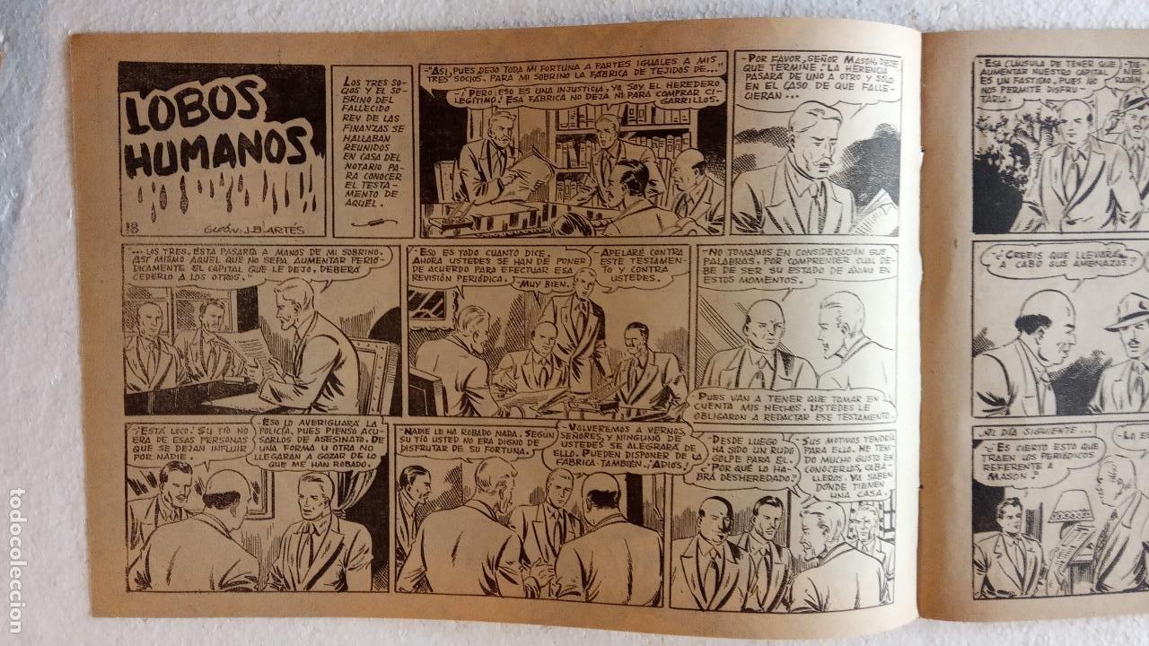 Tebeos: LA SOMBRA JUSTICIERA ORIGINAL 34 TEBEOS - EDI. FERMA 1954 - VER TODAS LAS PORTADAS - Foto 63 - 236655090