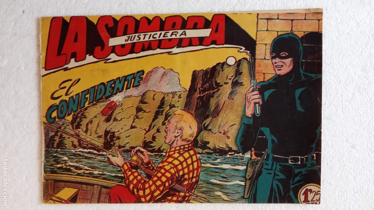 Tebeos: LA SOMBRA JUSTICIERA ORIGINAL 34 TEBEOS - EDI. FERMA 1954 - VER TODAS LAS PORTADAS - Foto 69 - 236655090