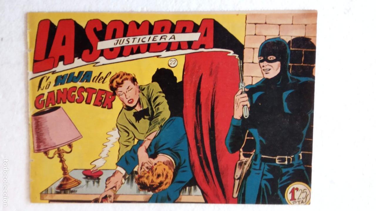 Tebeos: LA SOMBRA JUSTICIERA ORIGINAL 34 TEBEOS - EDI. FERMA 1954 - VER TODAS LAS PORTADAS - Foto 71 - 236655090