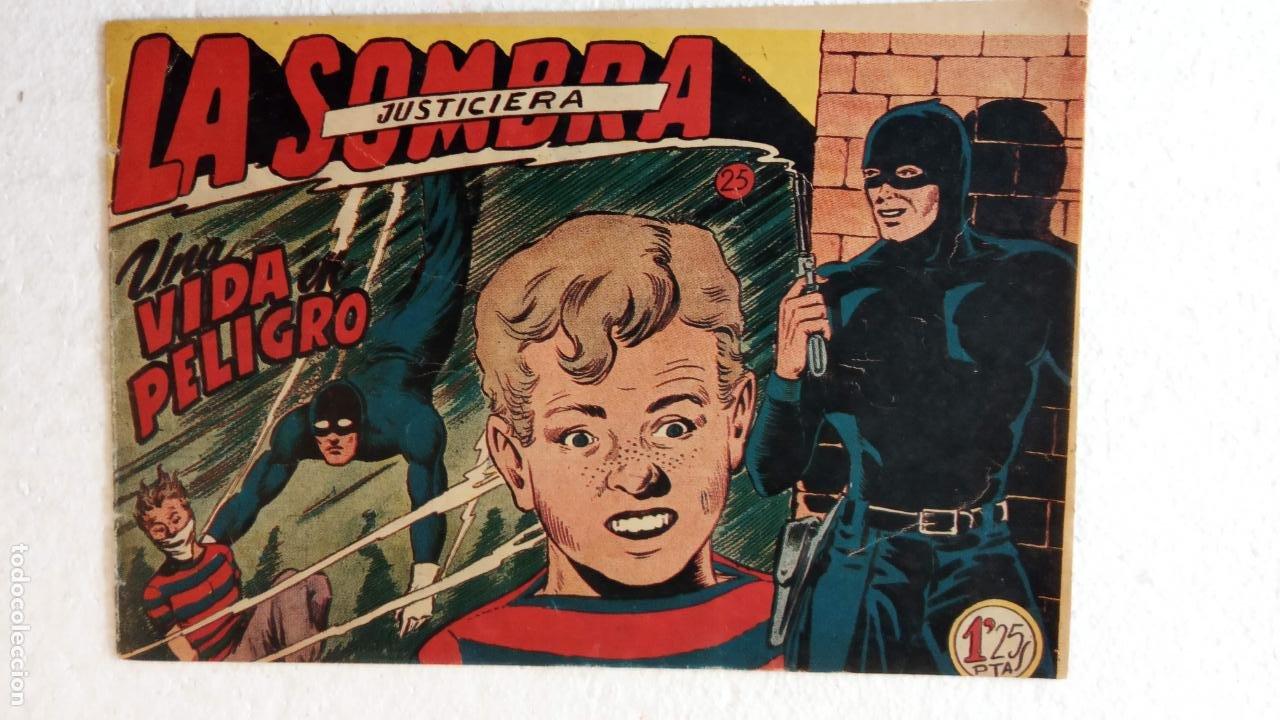 Tebeos: LA SOMBRA JUSTICIERA ORIGINAL 34 TEBEOS - EDI. FERMA 1954 - VER TODAS LAS PORTADAS - Foto 77 - 236655090