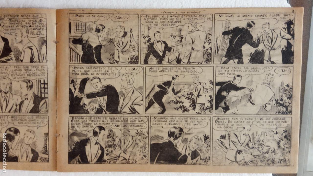 Tebeos: LA SOMBRA JUSTICIERA ORIGINAL 34 TEBEOS - EDI. FERMA 1954 - VER TODAS LAS PORTADAS - Foto 82 - 236655090