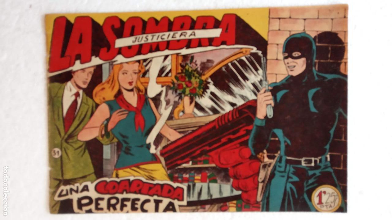 Tebeos: LA SOMBRA JUSTICIERA ORIGINAL 34 TEBEOS - EDI. FERMA 1954 - VER TODAS LAS PORTADAS - Foto 92 - 236655090
