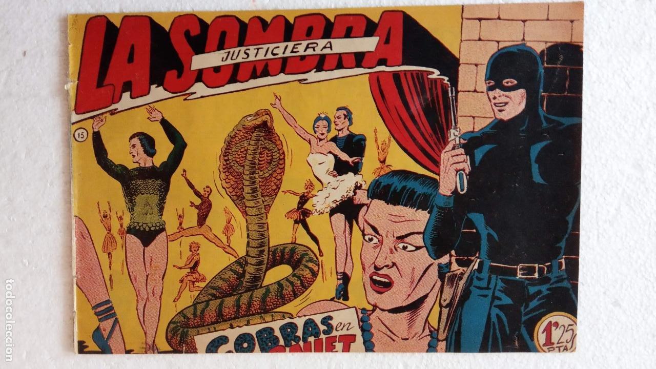 Tebeos: LA SOMBRA JUSTICIERA ORIGINAL 34 TEBEOS - EDI. FERMA 1954 - VER TODAS LAS PORTADAS - Foto 97 - 236655090