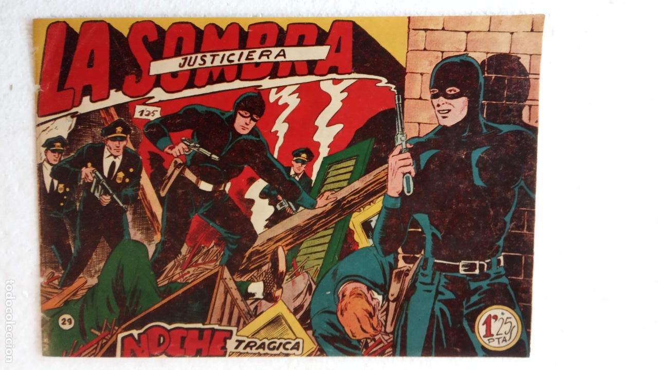 Tebeos: LA SOMBRA JUSTICIERA ORIGINAL 34 TEBEOS - EDI. FERMA 1954 - VER TODAS LAS PORTADAS - Foto 100 - 236655090