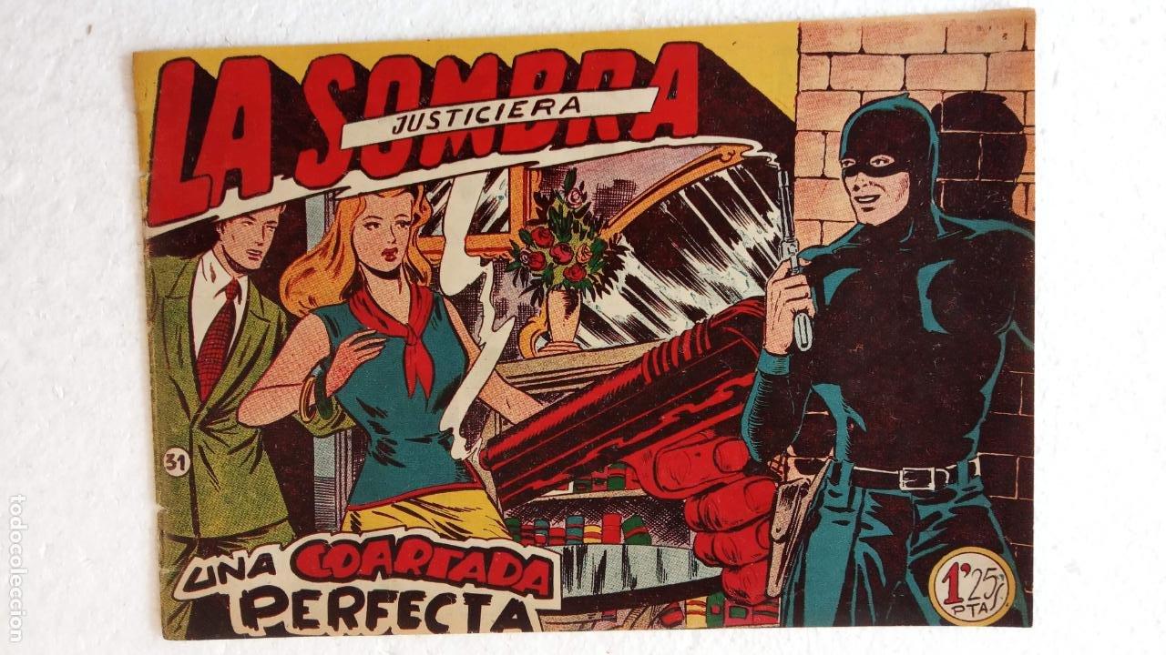 Tebeos: LA SOMBRA JUSTICIERA ORIGINAL 34 TEBEOS - EDI. FERMA 1954 - VER TODAS LAS PORTADAS - Foto 103 - 236655090